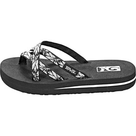 e12a463d5a7610 Teva Olowahu Sandals Children Hazel Black Silver